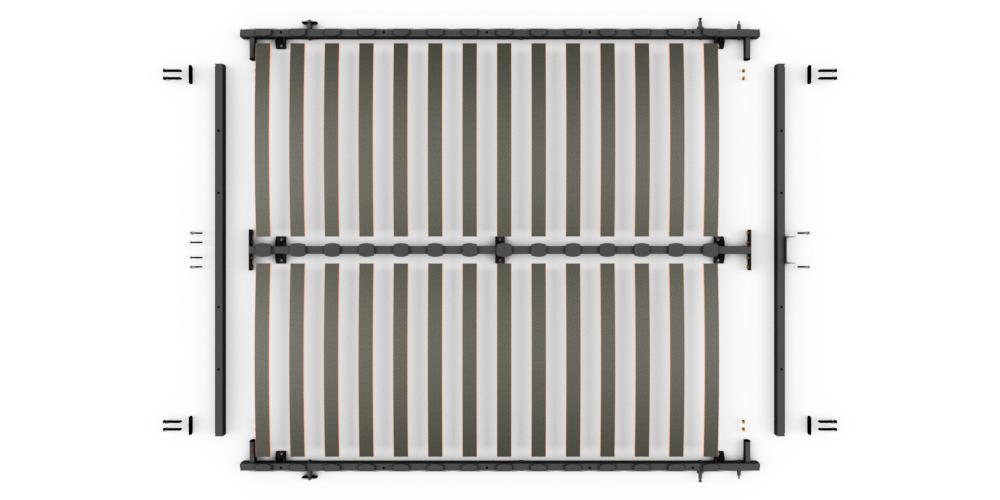 K68-400 电动 拆装床架